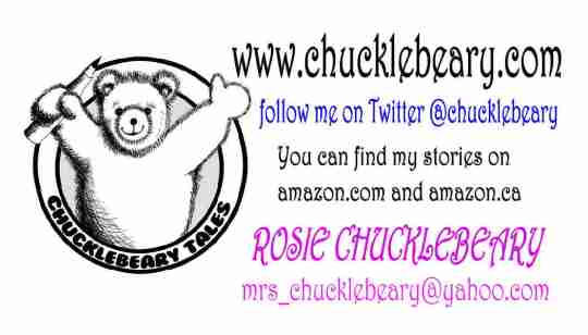 Chucklebeary Business Cards front