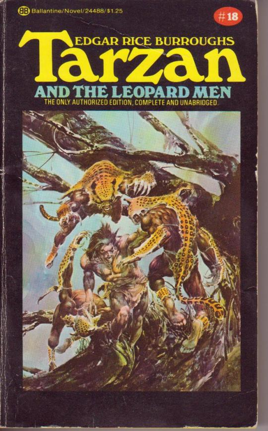 Books Tarzan 18